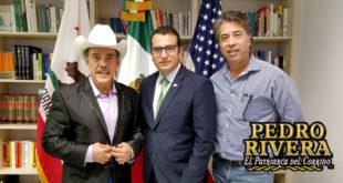 Cónsul Mexicano David Preciado en Fresno California