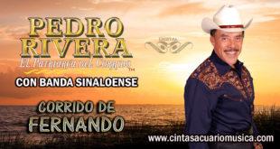 Corrido de Fernando disco Pedro Rivera