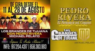 Gira Artística Pedro Rivera Los Grandes de Tijuana Michael Pelayo