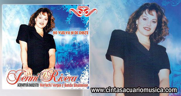 Disco Oficial No Vuelvo Ni De Chiste Jenni Rivera
