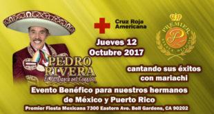 evento a beneficio de nuestros hermanos afectados por los sismos en México y el huracán maría en Puerto Rico