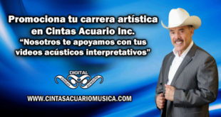 Promociona tu carrera artística en Cintas Acuario Inc.